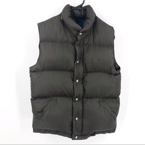 True Religion Down Feather Puffer Vest Small